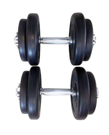 1 sæt 20 kg håndvægte