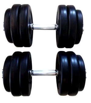 30 kilo håndvægt sæt
