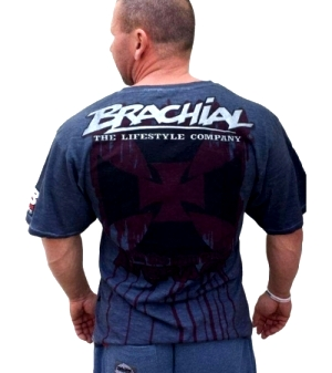 "Brachial T-Shirt ""Twister"" Antracit"