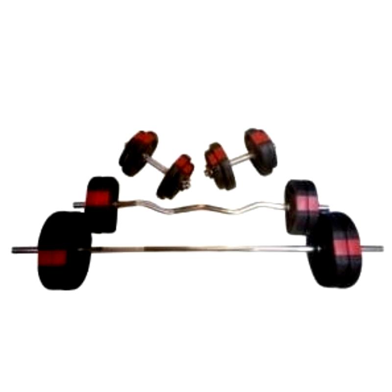 100 kg skånsomt vægtsæt