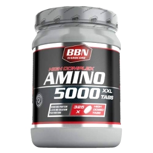 Best Body - Hardcore Amino 5000 - 325 tabletter