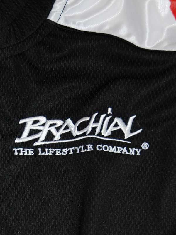 "Brachial Zip-Sweat ""Pain"" Sort/Hvid"
