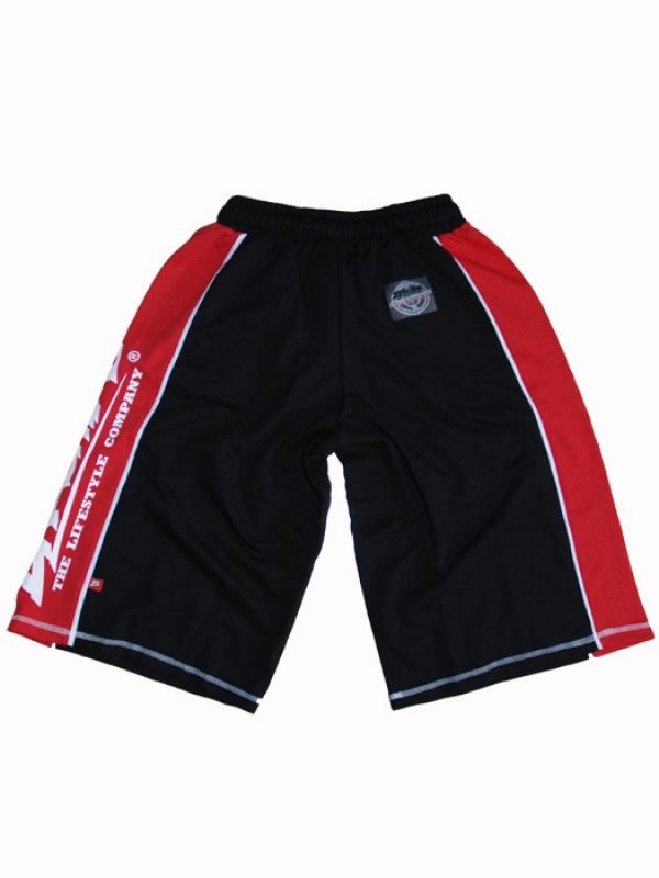 "Brachial Shorts ""Hot"" Sort/rød"