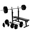 Træningsbænk   100kg Vægtsæt