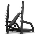 2 i én Professionel Træningsbænk / Squat Rack MP-L213