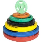 30 mm gummi vægtskiver med greb