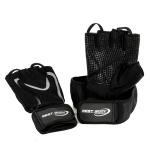 Best Body Træningshandske med håndledsstøtte grå