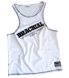 "Brachial Tank Top ""Cool"" Hvid/Sort"