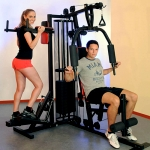 Fitness Station Profi Center De Luxe