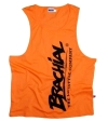 "Brachial Tank Top ""Heat"" Orange/Sort"