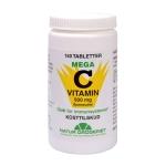 150 kapsler Mega C-vitamin syreneutral