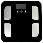 Badevægt med fedtprocent måler