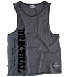 "Brachial Tank Top ""Push"" Gråmeleret/Sort"