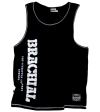 "Brachial Tank Top ""Push"" Sort/Hvid"