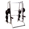 2 i én Smith Stativ   Squat Rack