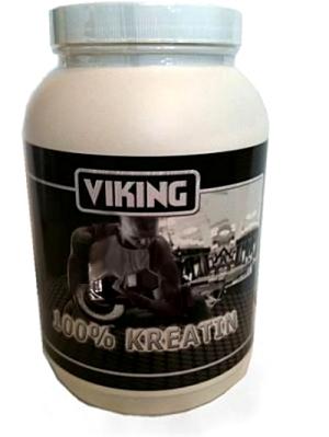 Kreatin pulver i bedste kvalitet - Dansk / Tysk mærkevare Viking